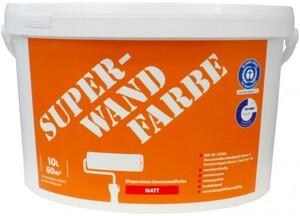 Wilckens Super-Wandfarbe ,  10 l, weiß, matt