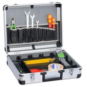 TrendLine Werkzeugkoffer ,  44,5 x 37 x 14,5 cm (L x B x H), mit Alu-Rahmen