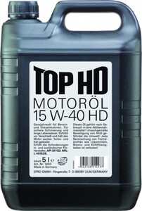 Liqui Moly Motoröl Top HD 15W-40 ,  5 l