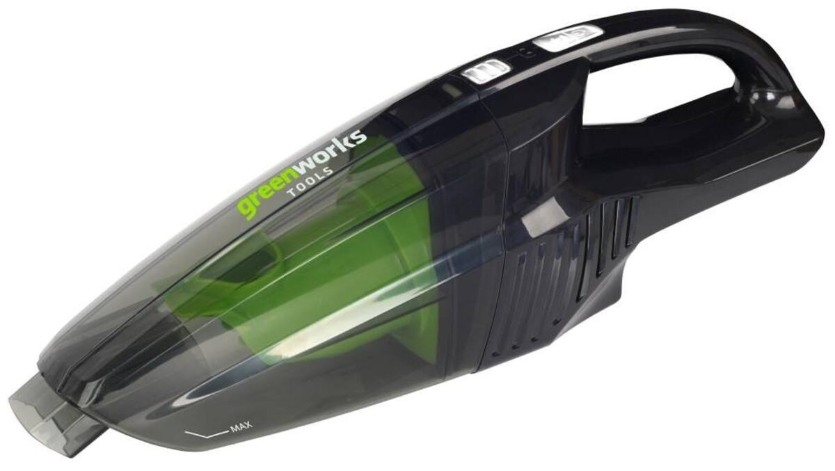 """Bild 1 von Greenworks Akku-Handstaubsauger 24V """"ohne Akku und Ladegerät, zum Nass- und Trockensaugen"""""""