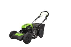 """Greenworks Akku-Rasenmäher 80 V mit Radantrieb """"ohne Akku und Ladegerät, 46 cm Schnittbreite"""""""