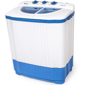 Mini-Waschmaschine 4,5 kg mit Wäscheschleuder 3,5 kg