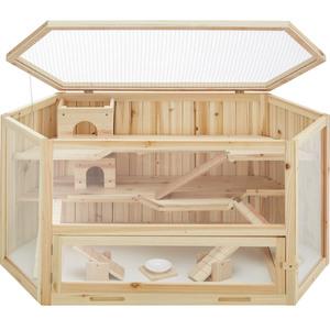 Hamsterkäfig aus Holz 115x60x58cm