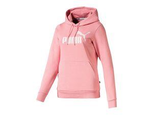 Puma Pullover Damen, Kapuze mit Jersey, mit Tunnelzug, Kängurutasche, mit Baumwolle