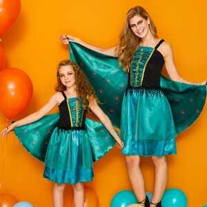 Schmetterling- oder Pfau-Kostüm mit Flügeln für Erwachsene