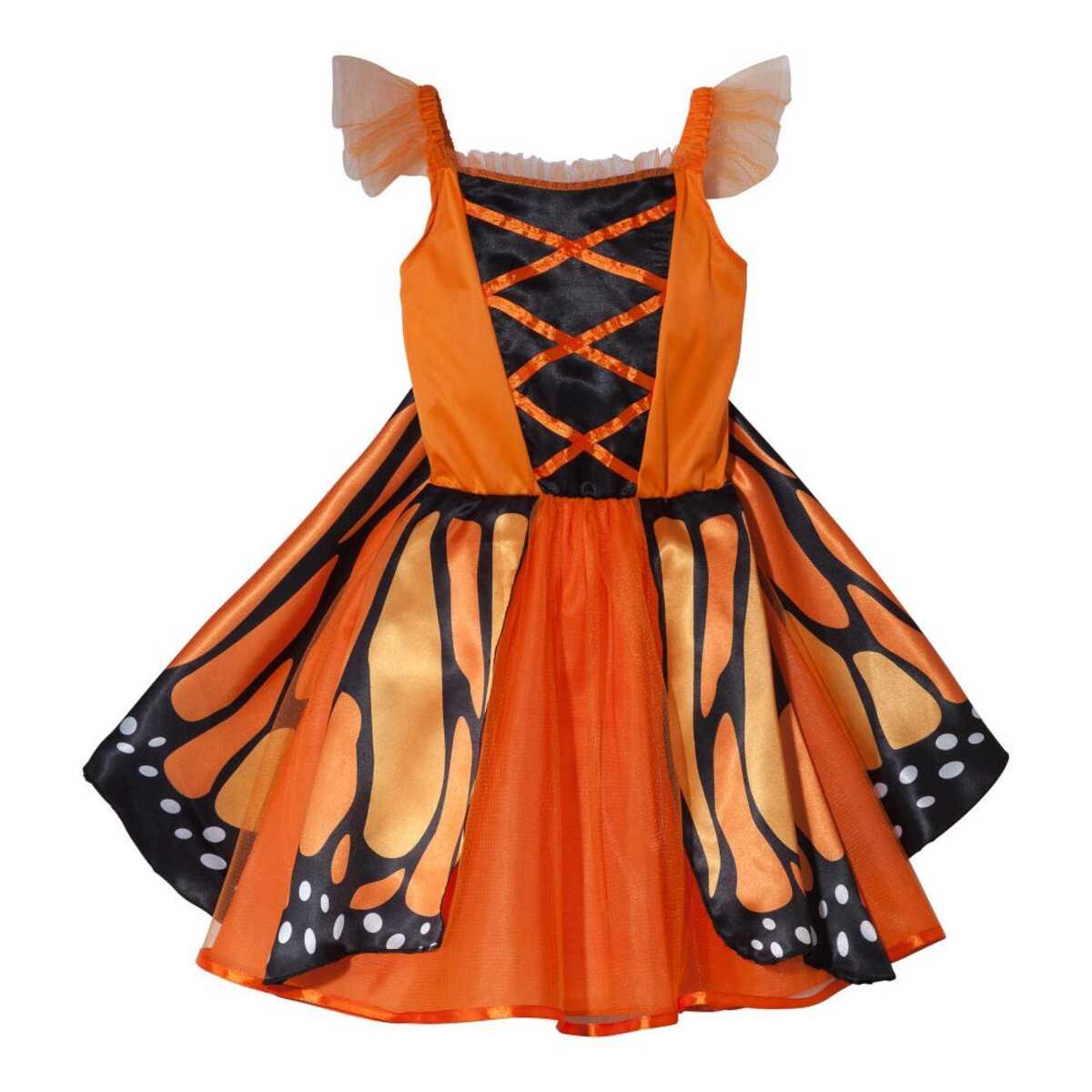 Bild 2 von Schmetterling- oder Pfau-Kostüm mit Flügeln für Erwachsene