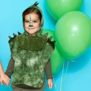 Kinder-Dinosuarier-Kostüm mit Kapuze
