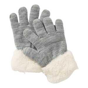 Kinder-Handschuhe mit Teddy-Plüsch