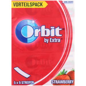 Orbit by Extra Kaugummi Erdbeere