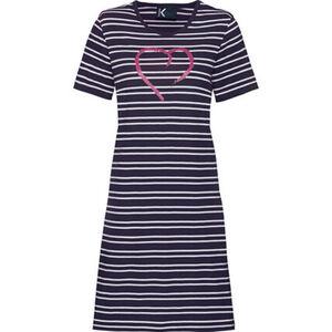 K-Town Sleepshirt, gestreift, für Damen