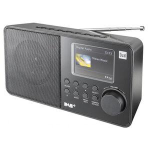 Dual Radio DAB 18 C mit TFT-Farbdisplay, schwarz