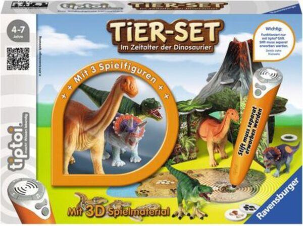 Ravensburger tiptoi - Tier-Set Im Zeitalter der Dinosaurier