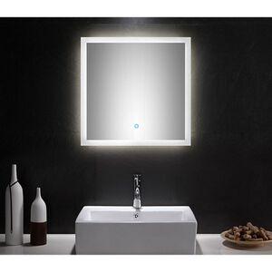 LED Spiegel 60x60 cm mit Touch Bedienung