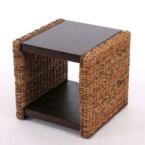 Beistelltisch Nachttisch Sitzhocker Vittoria Rattan