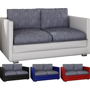"""VCM - my home 2er Schlafsofa Sofabett Couch Sofa mit Schlaffunktion """"Unal"""""""