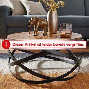 Wohnling Couchtisch MANUR 60x30x60 cm Sheesham Massivholz Wohnzimmertisch Stubentisch Holztisch Kaffeetisch