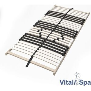 VitaliSpa 7-Zonen-Lattenrost Premium Härtegradverstellung 90x200cm