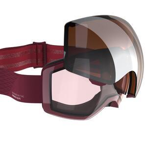 Skibrille / Snowboardbrille G 520 I Erwachsene/Kinder rot