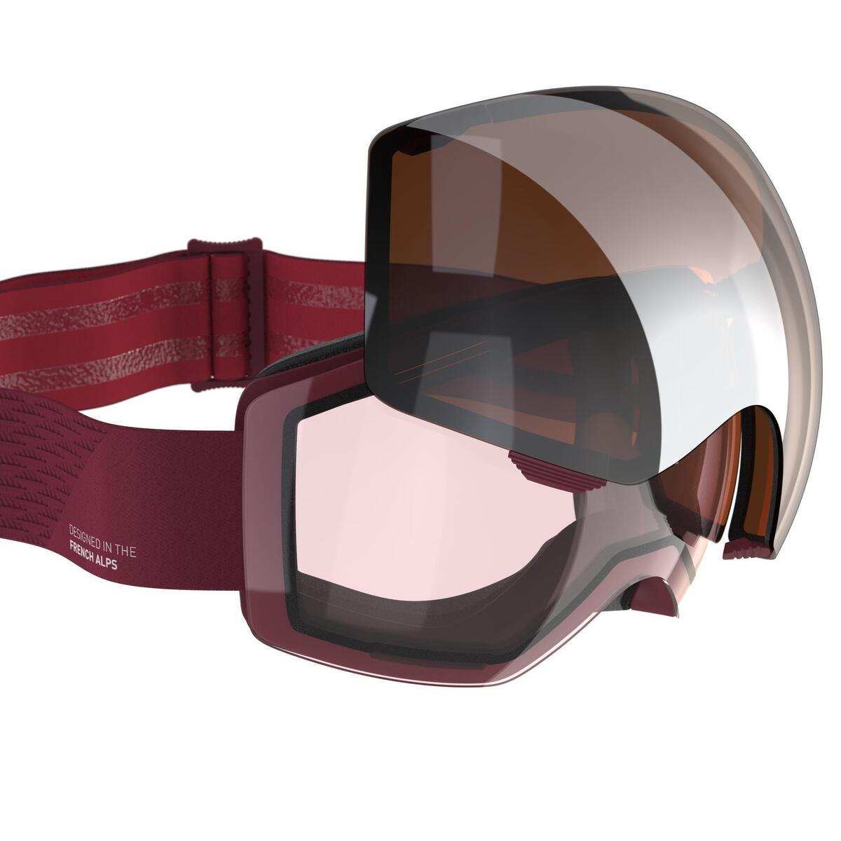 Bild 1 von Skibrille / Snowboardbrille G 520 I Erwachsene/Kinder rot