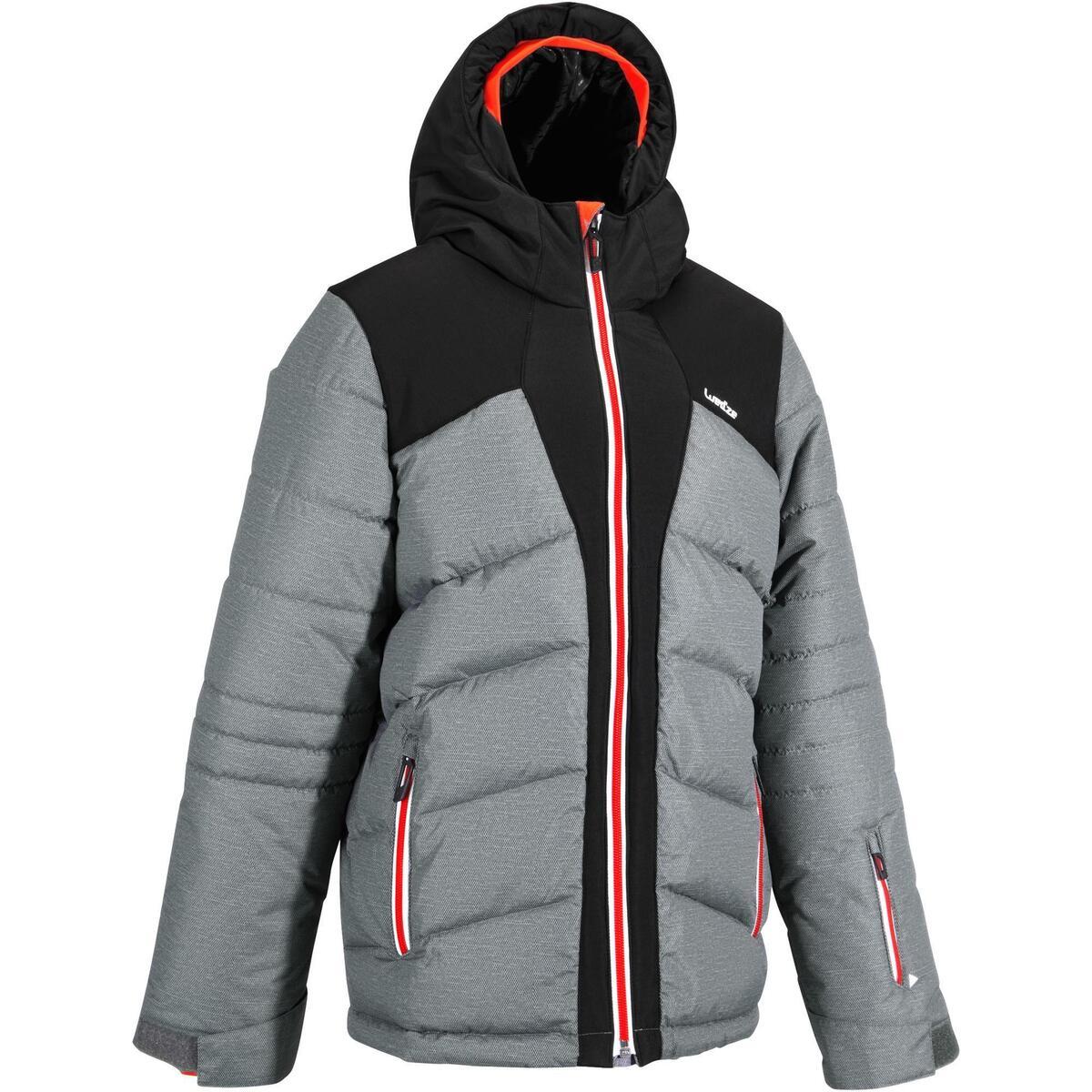 Bild 1 von Skijacke Warm 500 Kinder grau/schwarz