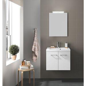 Badmöbel-Set Allibert 60 cm weiß glänzend