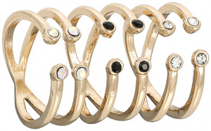 Mid-Rings - Crystal Clear
