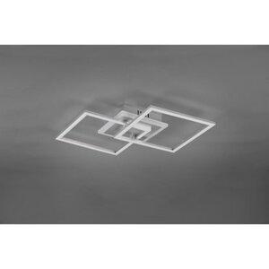 Trio LED-Deckenleuchte Venida titanfarbig EEK: A+