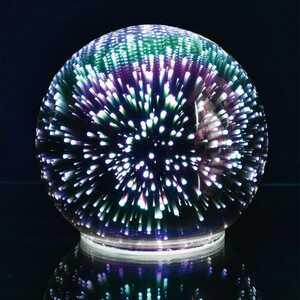 Glaskugel mit 3D-Effekt, Ø ca. 13cm