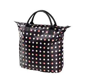 Damen-Handtasche mit Punkte-Muster, verschiedene Größen