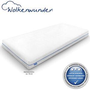 Wolkenwunder Wellflex Maxi 19 cm 7-Zonen-Schaum-Matratze mittel... 80x200 cm