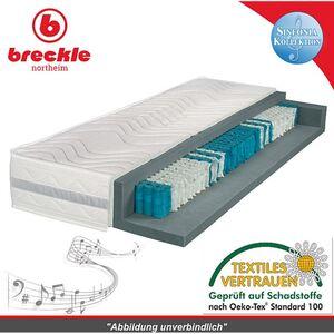 Breckle Sinfonia 1000 XXL TFK Taschenfederkernmatratze... H2, 90x200 cm
