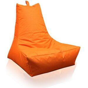 KINZLER Sitzsack Lounge-Sessel, orange (Outdoorfähig)