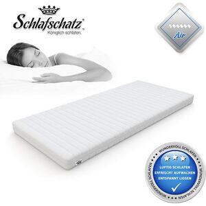Schlafschatz Wellness AIR 7-Zonen-Gel-Schaum-Matratze mittel... 100x200 cm