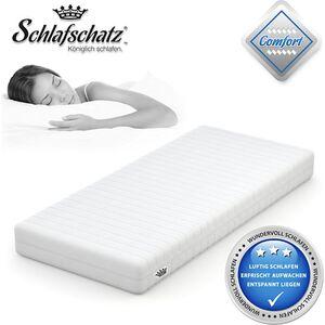 Schlafschatz Wellness Comfort 7-Zonen-Gel-Schaum-Matratze mittel... 90x200 cm