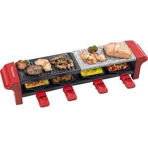 Bestron Raclette-Grill mit 4 Pfännchen