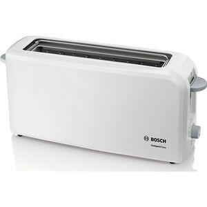 Bosch Langschlitz-Toaster TAT3A001 CompactClass, weiß