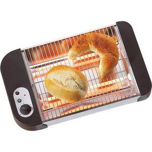 Westfalia Flach Toaster für Brötchen und Brezel, 600 Watt