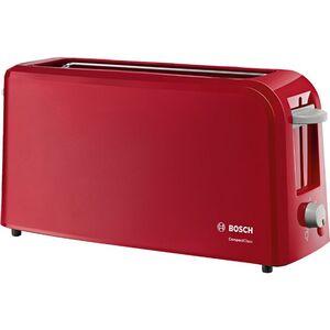 Bosch Langschlitz-Toaster TAT3A004 CompactClass, rot
