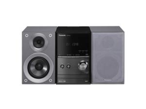 PANASONIC SC-PM602 Kompaktanlage in Grau/Schwarz