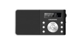 GRUNDIG Music 6000 Digitalradio in Schwarz