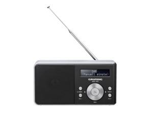 GRUNDIG Music 500 DAB+ Radio in Schwarz