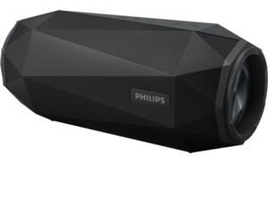 PHILIPS Shoqbox SB500B/00 Bluetooth Lautsprecher, 30 Watt Schwarz