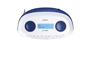 LENCO SCD-69 Radiorecorder in Blau