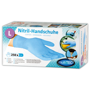 Multitec Nitril-Einweghandschuhe