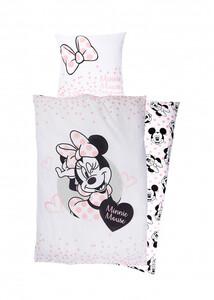 Renforcé Lizenz Bettwäsche Minnie Mouse
