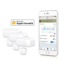 Eve Door & Window 3er Set kabelloser Tür- Fensterkontakt für Apple HomeKit