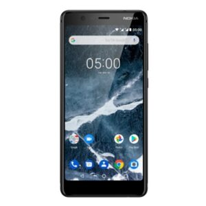 Nokia 5.1 (2018) Dual-SIM 32GB schwarz mit Android One