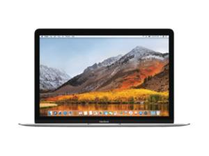 APPLE MNYJ2D/A MacBook Notebook mit Core i5, 8 GB RAM, 512 GB & Intel® HD-Grafik 615 in Silber