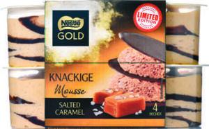 Nestlé Gold 4er-Pack Knackige Mousse
