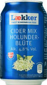Lækker Cider Mix Holunderblüte